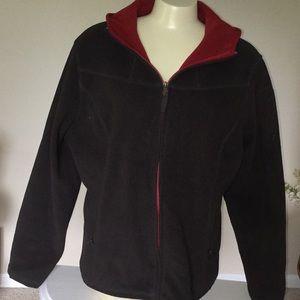 Pendleton zip up fleece hoodie